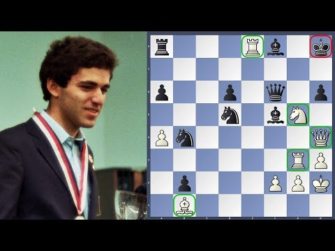 World Champion Checkmate Challenge | Garry Kasparov