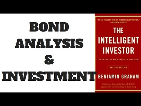 THE INTELLIGENT INVESTOR - BOND ANALYSIS - CHAPTER 11