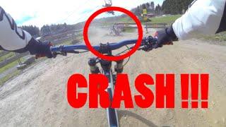 Bikepark Schöneck 2016 | + CRASH | GoPro Hero 4