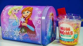 Disney Frozen Mailbox Toys LOL Surprise Egg Num Noms Sparkle Smoothies Barbie Accessory Box