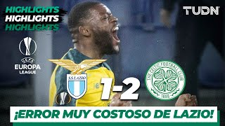 Highlights | Lazio 1   2 Celtic Fc | Europa League   J4   Grupo E | Tudn