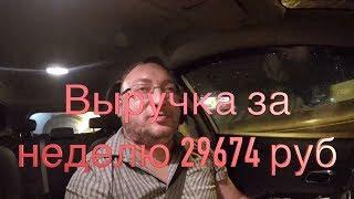Работа в #Яндекс #такси на день города.  Итоги недели/StasOnOff