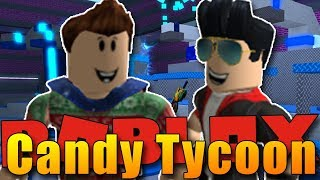 WE ARE TWO GINGERMEN!:D | ROBLOX: Candy Tycoon #2 w/Bozi