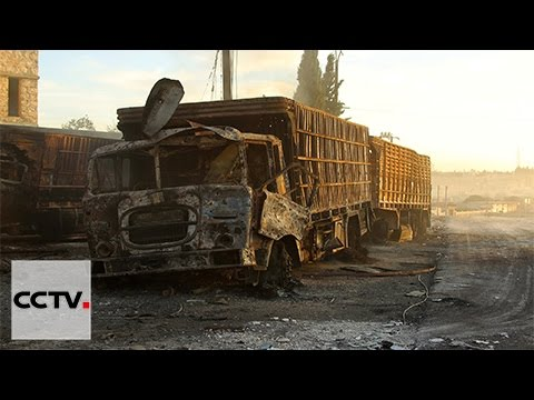 U.N. suspends convoys to Syria after attack on aid trucks