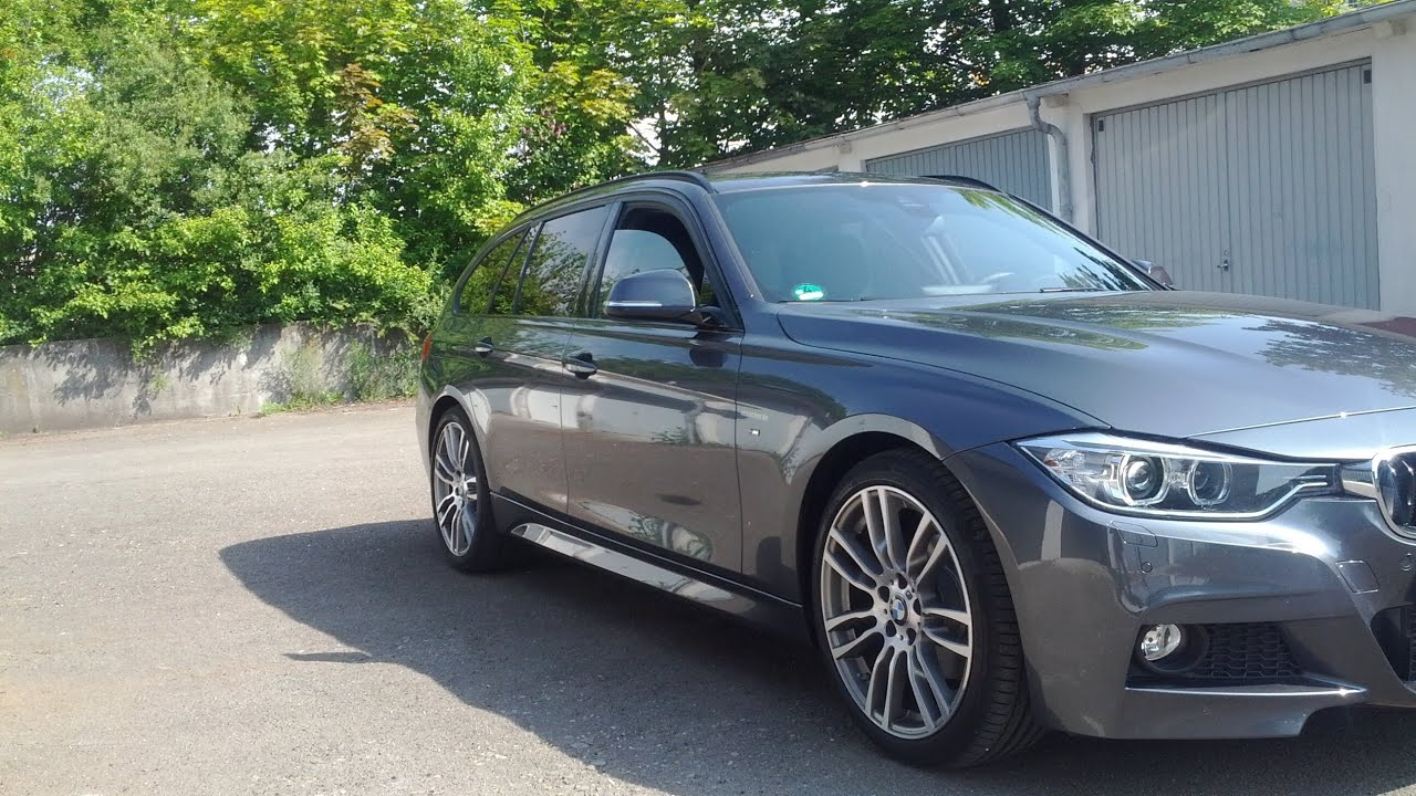 bmw 3 series f30 m paket touring youtube. Black Bedroom Furniture Sets. Home Design Ideas