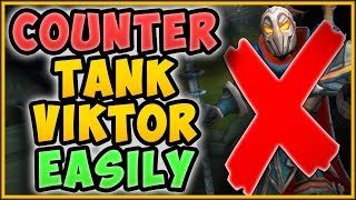 NEVER LOSE TO TANK VIKTOR TOP AGAIN! STOMP SEASON 9 WITH EASE ON THE CROC League of Legends Gameplay