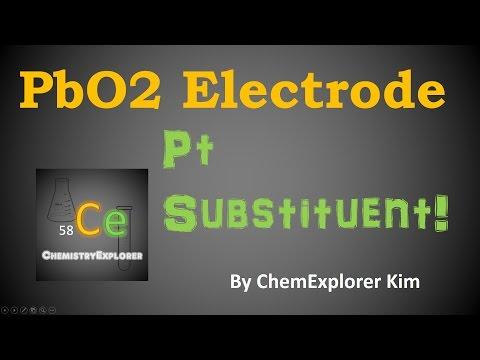 Making a Lead Dioxide Electrode (Pt electrode substituent!)