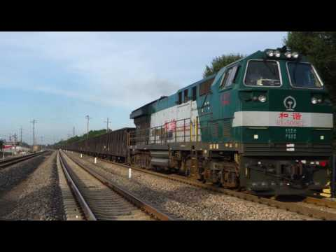 Freight train From Jixi west to Harbin south near sunjia station