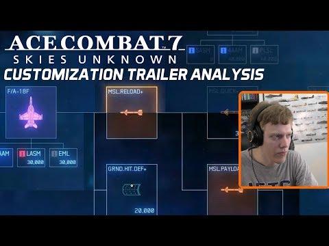 Ace Combat 7: Aircraft Customization Trailer - Trailer Analysis