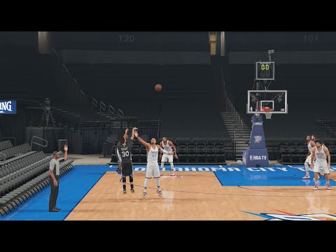 Can I Recreate Stephen Curry's Amazing Game Winning Shot to Beat the Thunder in Overtime!? NBA2K16
