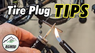 What you need to know about mountain bike tire plugs