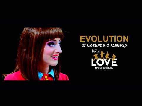 Evolution of Costume & Makeup | The Beatles LOVE by Cirque du Soleil | 10-Year Anniversary