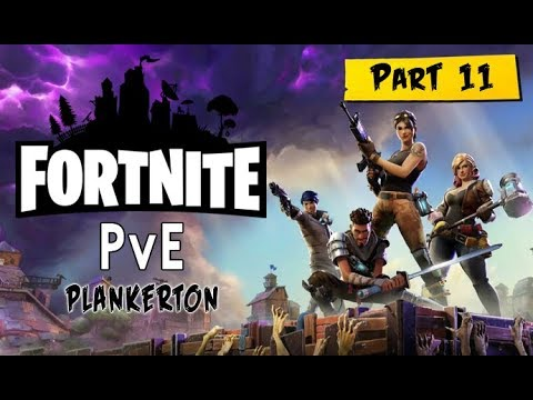 Fortnite: Part 11 - Welcome to Plankerton (with commentary) PS4