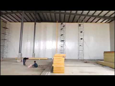 Engineer installation guide of cold room in Philippines