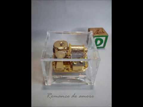 romance de amore 18 note musicbox