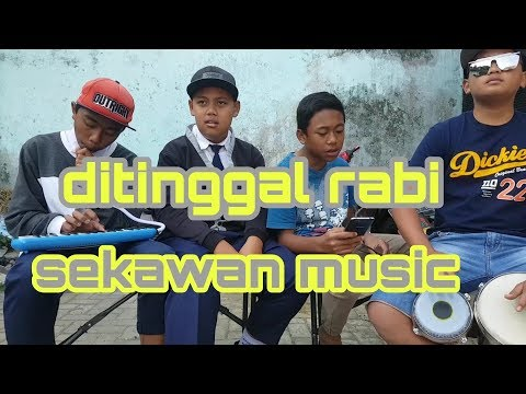 DITINGGAL RABI -- Kendang koplo dan Pianika -- cover by sekawan music