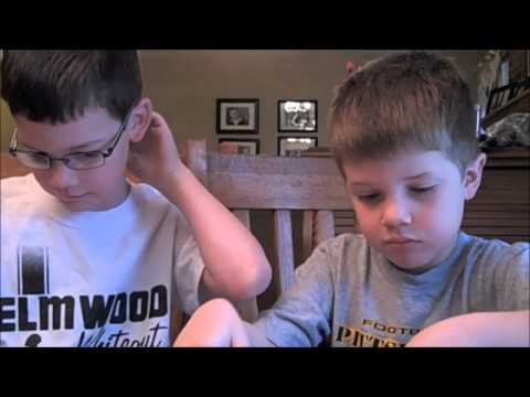 "The Hollis Boys, 6 and 7, ""Speaking up for our sisters"" with Down Syndrome"