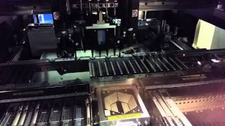 Yamaha YS12F Pick And Place Production Run