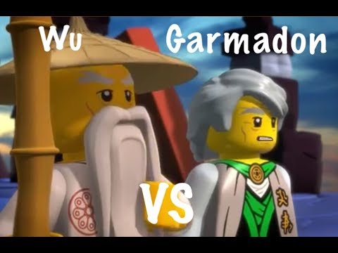 Sensei wu versus sensei garmadon ninjago youtube - Sensei ninjago ...