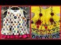 Top Collection Of Embroidered tops and Frocks Style For Kids // Stylish  Summer Dresses