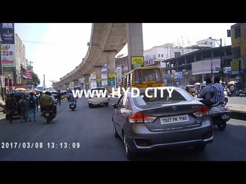 Ameerpet Shopping Area Video Hyderabad India