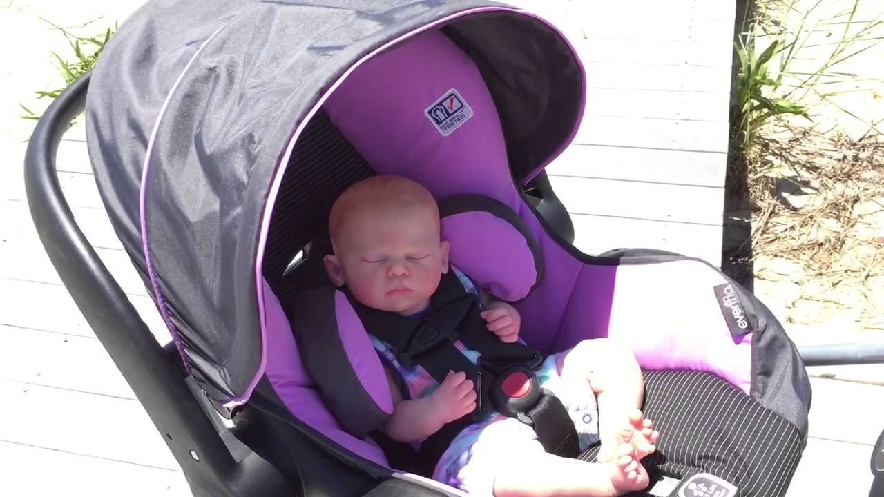 Phoenix at the Beach! - Reborn Baby Doll for Sale! - YouTube