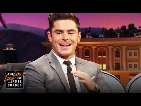 Download Youtube: Zac Efron Kissed The Rock and He Liked It