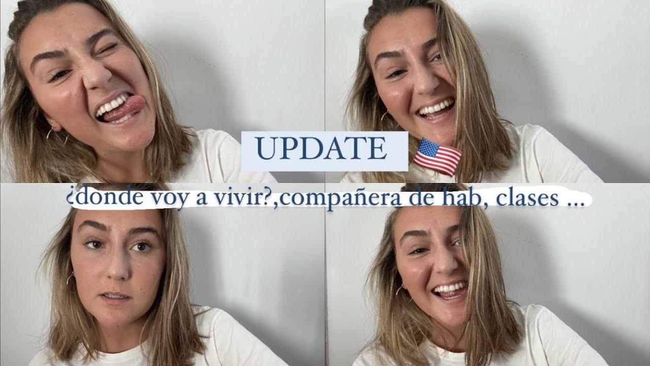update del siguiente semestre en EEUU||¿cuándo voy,con quién vivo,dónde, clases...?|| Nieves Quevedo