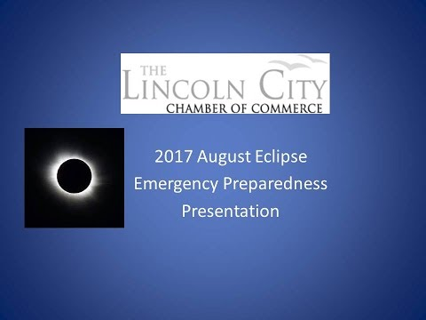 LINCOLN CITY PRESENTATION REGARDING AUGUST 21, 2017 TOTAL SOLAR ECLIPSE