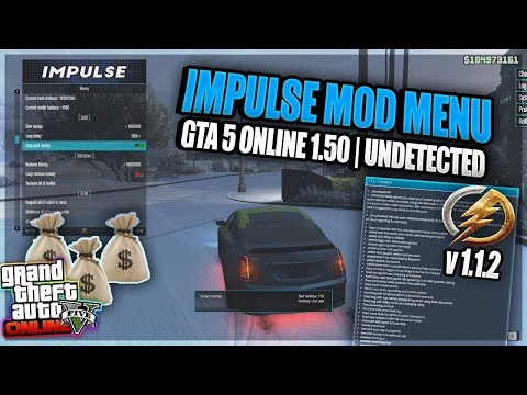 Impulse GTA5 Menu Cracked! (VIP) (STAFF) (1.50)