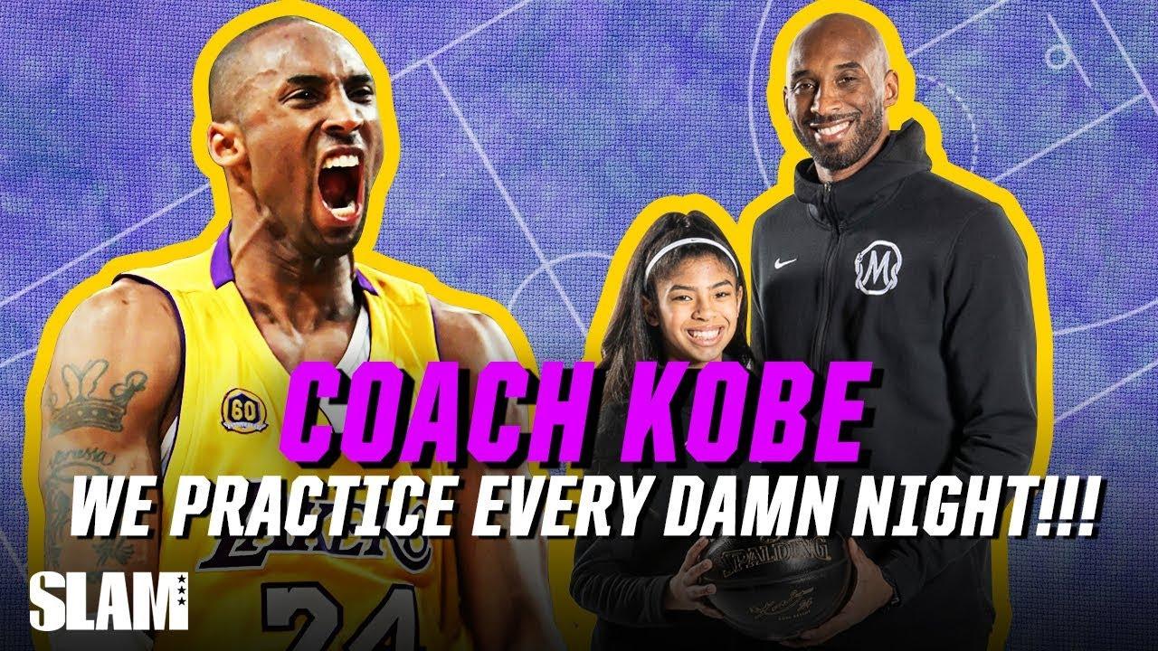Kobe Bryant Mamba 101 We Practice Every Damn Night Slam Cover Shoots