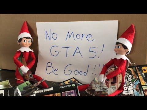 Elf On The Shelf Breaks Kid's GTA 5 Games And Leaves