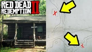 SECRET HOUSE WITH SECRET MAP in Red Dead Redemption 2!