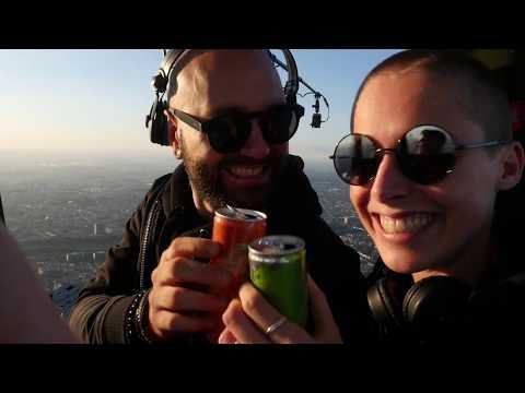 AFTRsun HOT AIR BALLOON Livestream with VISION MACHINE & NATASJA (Techno)