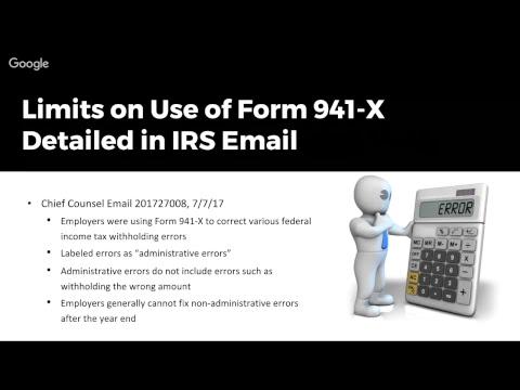 2017-07-17 - Employer's Error, Employee's Tax Bill