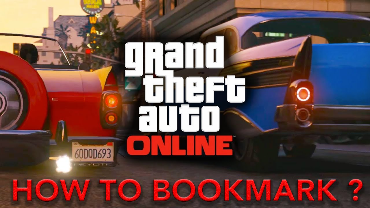 GTA V Online : How to Bookmark Jobs And Playlists