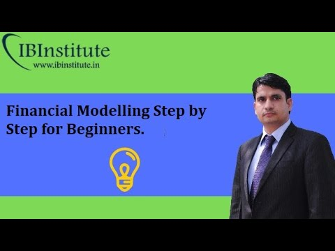 Financial Modelling Course step by step for Beginners: Introduction: 1st  Video