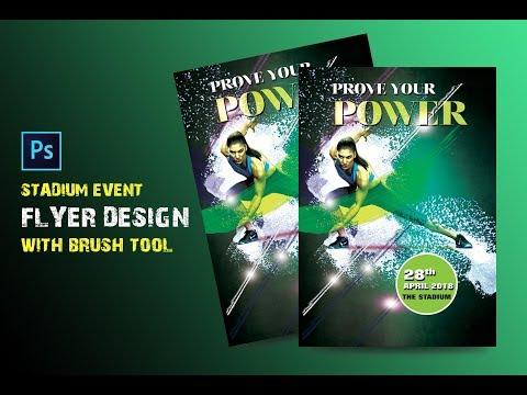 Photoshop Creative flyer design | match flyer design