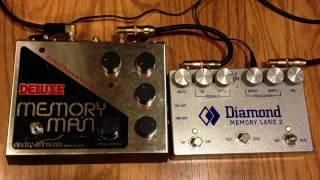 Deluxe Memory Man vs Diamond Memory Lane 2