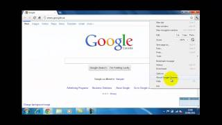 How To Set A Homepage In Google Chrome 10.1 thumbnail