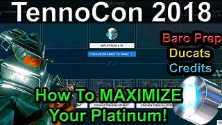 TennoCon Baro Everything You Need To Know | Warframe Trade Chat Pt17