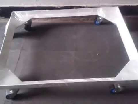 Front Load Washing Machine Stand Trolley   YouTube