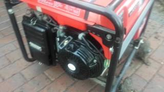 Honda EM5000S 5000 watt generator with electric start