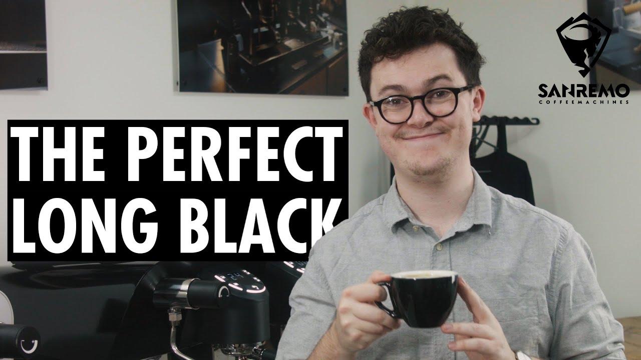 The PERFECT Long Black   Sanremo Coffee Machines Australia