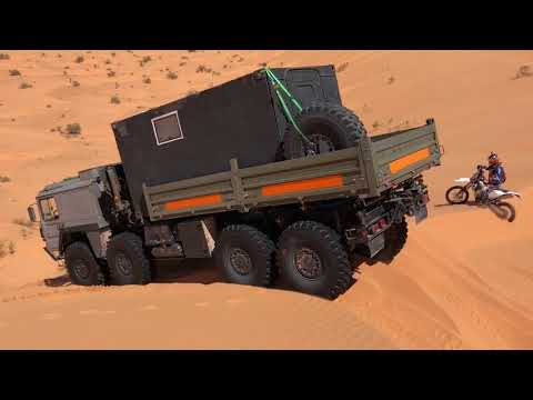 Another KAT1 8x8 in the Dunes