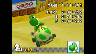 Mario Kart DS in 4K HD Part 1