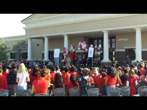 Cal Aero Preserve Academy Mascot unveiling
