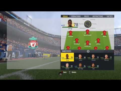 FIFA 17 Online Seasons #2 - Atletico Madrid vs Liverpool FC