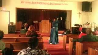 "Praise Dance ""Turning Around for Me"" by Vashawn Mitchell"