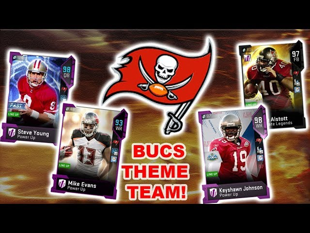 TAMPA BAY BUCCANEERS THEME TEAM! MADDEN 19 ULTIMATE TEAM GAMEPLAY